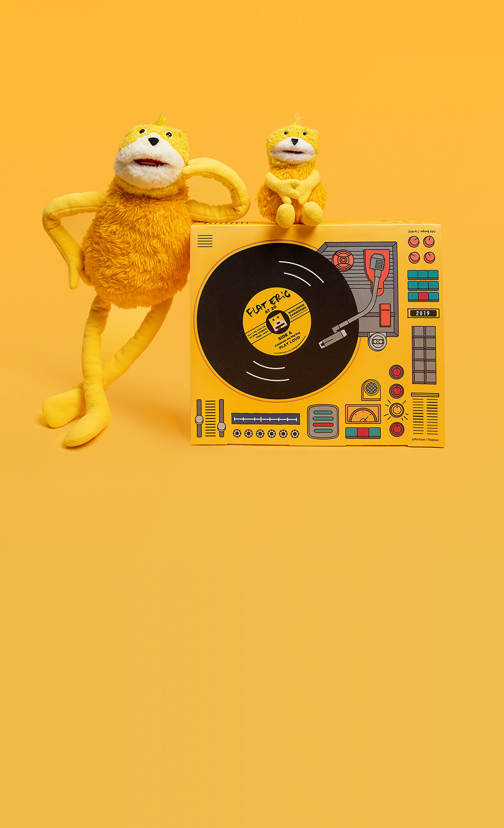 flat eric20th anniversary collector box